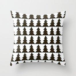 Evergreen Geo Throw Pillow