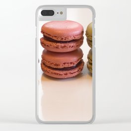 Macaroons. Clear iPhone Case