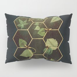 Bees in Space Pillow Sham