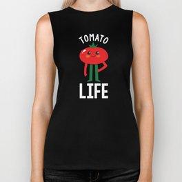 Tomato Life vegan and vegetarian Biker Tank