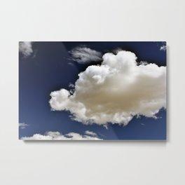 Clouds in the Sky Metal Print