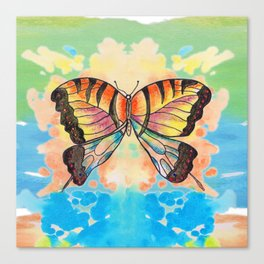 Simply Butterfly Canvas Print