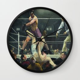George Bellows's George Dempsey and Firpo Wall Clock