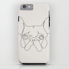 One Line French bulldog Tough Case iPhone 6s