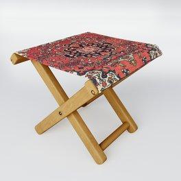Farahan Arak West Persian Poshti Print Folding Stool