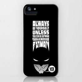 """""""WHAT IF I TELL YOU..."""" iPhone Case"""