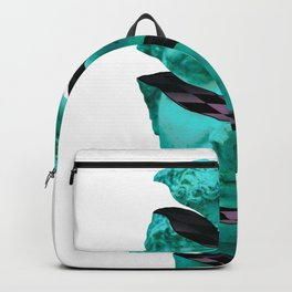 Aesthetic Vaporwave Statue. Sliced Greek Statue Design Gift product Backpack