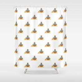 Yoga Bears Shower Curtain