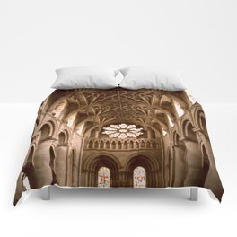 Oxford, England Comforters