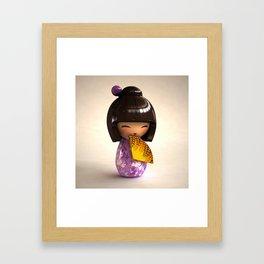 Kokeshi 04 Framed Art Print