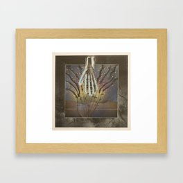 The Divine Drive-In Framed Art Print