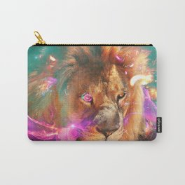 Lions Eating Galaxies Carry-All Pouch