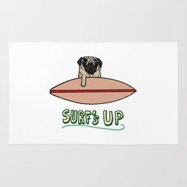 Surf's Up Pug Rug