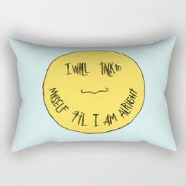 YELLOW OSTRICH Rectangular Pillow