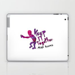 Keep It Together (Zombie Motivational)(white back) Laptop & iPad Skin