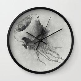 jellyfish meduse Wall Clock