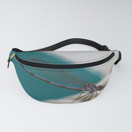 Blue Dragonfly Fanny Pack