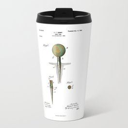 Golf Tee Patent - 1899 Travel Mug