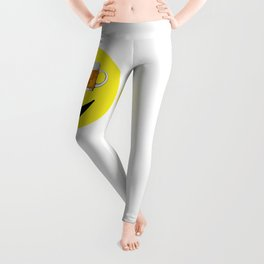 Happy Hour Face Leggings