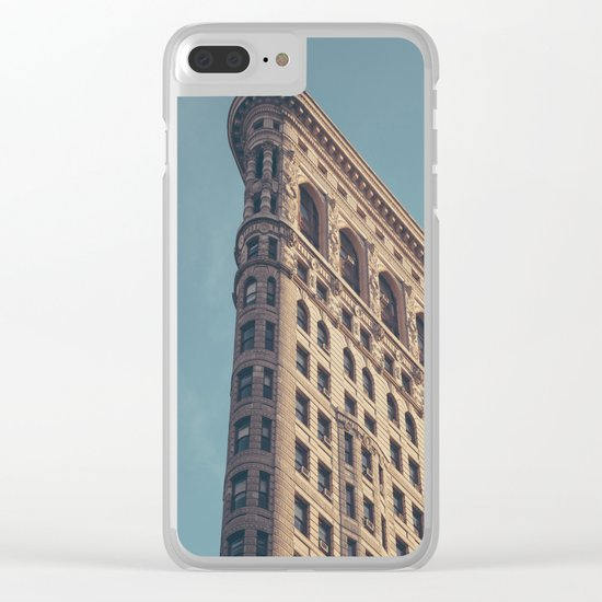 Flatiron - NYC Clear iPhone Case