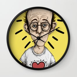 Keith Haring Wall Clock