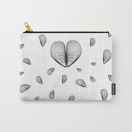 black or white mussel it's my life Carry-All Pouch