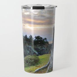 Lonely Tree Stump Travel Mug