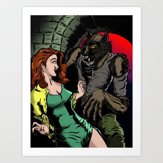 NIGHT STALKER Art Print
