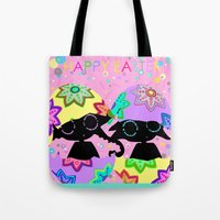 easter Tote Bags featuring Easter by BLOOP