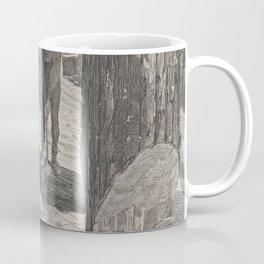 Vintage Illustration of a Lumberjack (1871) Coffee Mug