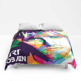 Cobain In Pop Art Comforters