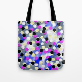 Dotts and texture Abstract Pattern Tote Bag