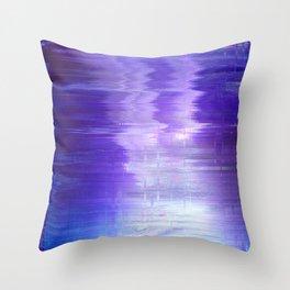 Glytch 09 Throw Pillow