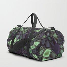 Fractal Gems 04 - Emerald Dreams Duffle Bag