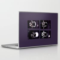 howl Laptop & iPad Skins featuring Howl by Zombie Rust