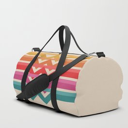 Retro - Suns Rising #942 Duffle Bag