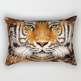 Tiger Profile Rectangular Pillow