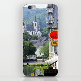 Trarbach as seen from Traben iPhone Skin
