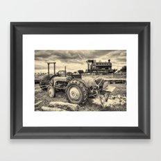 Kilmersdon Fergie Toned Framed Art Print