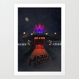 Mazu Crew Poster Art Print