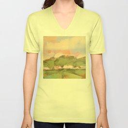 Joyous oaks Unisex V-Neck