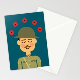 Remembrance Day Stationery Cards