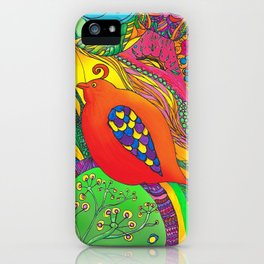 Psycho-Delic Dan iPhone Case