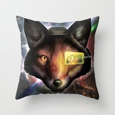 Star Fox McCloud Epic Space Poster Throw Pillow