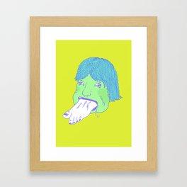 FEED ME 4 Framed Art Print