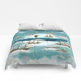 Ocean Meets Sky - revised Comforters