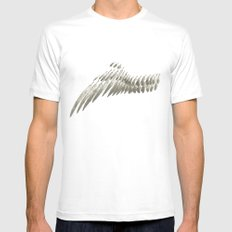 Wing Mens Fitted Tee MEDIUM White