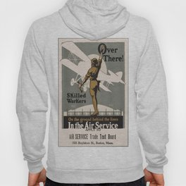 Vintage poster - Air Service Trade Test Board Hoody