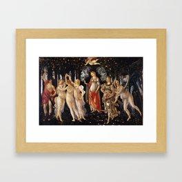 Primavera, Botticelli Framed Art Print