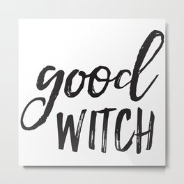 Good Witch Metal Print